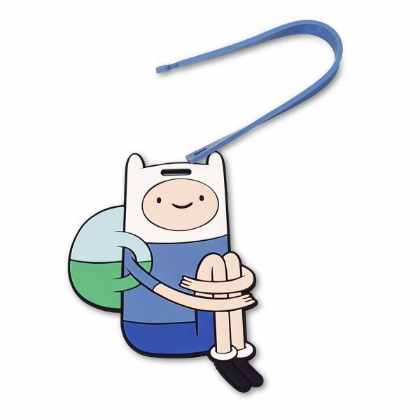 - Adventure Time Bagaj Etiketi (Finn)