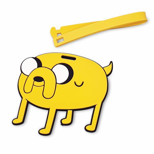 MINISO - Adventure Time Bagaj Etiketi (Jake)