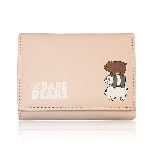 MINISO - We Bare Bears Cüzdan (Pembe)