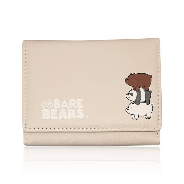 MINISO - We Bare Bears Cüzdan (Gri)