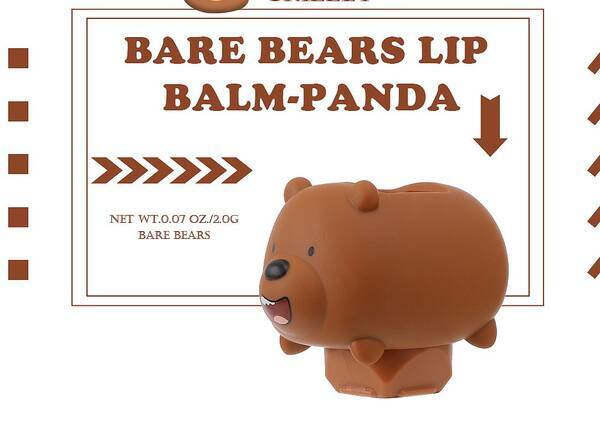 Lip Balm We Bare Bears-Grizzly