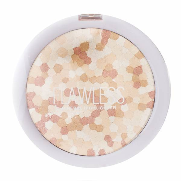 - Flawless Mineral Multi-Colour Highligter (01-Pink Pearl)