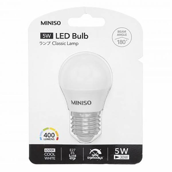 MINISO - LED Ampül E27 (Cool White)