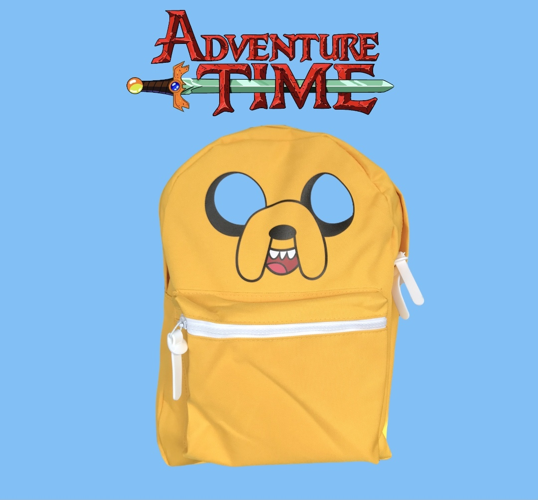 MINISO - Adventure Time-Sırt Çantası Sarı-Jake