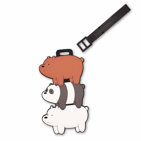 MINISO - We Bare Bears Çanta ve Bagaj Etiketi
