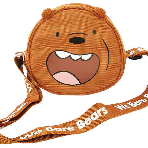 MINISO - We Bare Bears Çanta-Grizzly