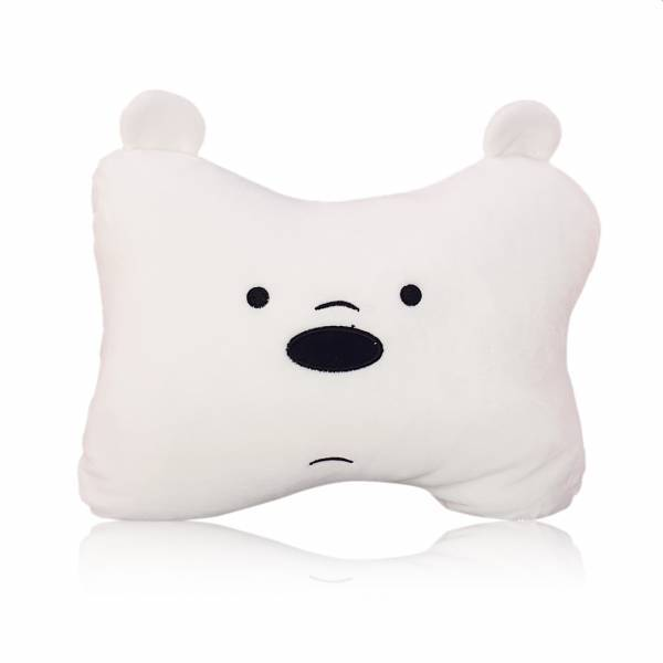 MINISO - We Bare Bears Kemik Yastık (Ice Bear)