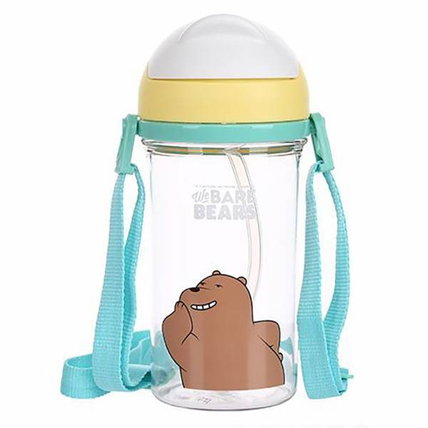 - We Bare Bears Pipetli Tritan Su Şişesi Grizzly 400 mL
