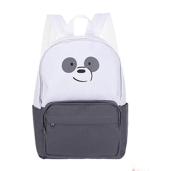 MINISO - We Bare Bears Sırt Çantası-Panda